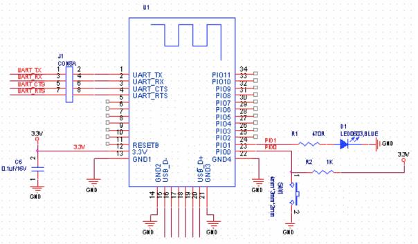 HM-10 Wiring