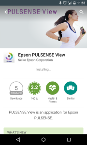 Epson PULSENSE 1.0.5 Android