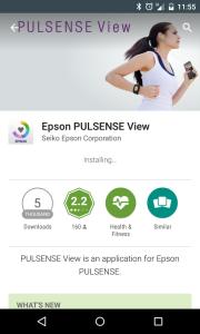 Epson PULSENSE 1.0.5 Android